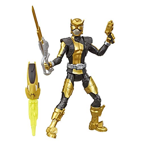 Power Rangers Beast Morphers Gold Ranger 6-inch Action Figure Toy Inspired by The TV Show