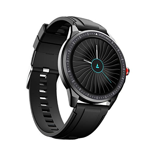 boAt Flash Edition Smartwatch with Activity Tracker,Multiple Sports Modes,Full Touch 1.3' Screen,Sleep Monitor,Gesture, Camera & Music Control,IP68 Dust,Sweat & Splash Resistance(Lightning Black)
