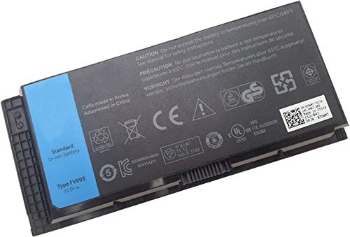Laptop Battery for Dell 6 Cell Battery for Precision Mobile M4600 M4700 M6600 M6700 WorkStations