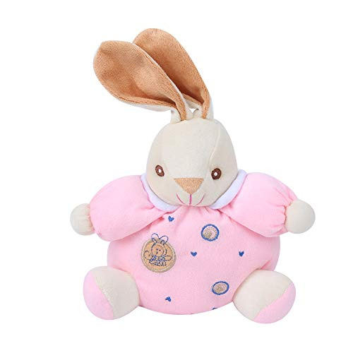 Kawaii Stuffed Animals, Infant Calming Toy Soft and Comfortable for Little Baby for Soothe The Baby(Pink)