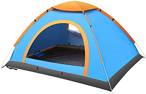 Mokshith 6 Person Pop up Tent 3 Seconds Instant Tent Lightweight Automatic Portable Tent Backpacking Tent Waterproof Sun Shelter for Outdoor Indoor Family Camping Backpacking Picnic Beach
