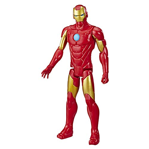 Marvel Avengers Titan Hero Series Iron Man Action Figure, 12-Inch Toy, For Kids Ages 4 And Up