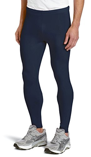 KD Willmax Compression Full Tight Plain Navy Blue XX Large Athletic Yoga Fit Multi Sports Cycling, Cricket, Football, Badminton, Gym, Fitness & Other Outdoor Inner Wear