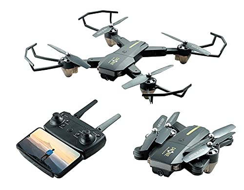 AAA STORE® Drone with 4K Camera Live Video,WiFi FPV Drone for Adults with 1200 Mah Long Flight time Auto Hover Fold able RC Drone Quad-copter