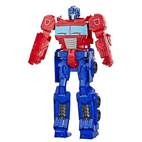 TRANSFORMERS Toys Titan Changers Optimus Prime Action Figure - for Kids Ages 6 and Up, 11-inch