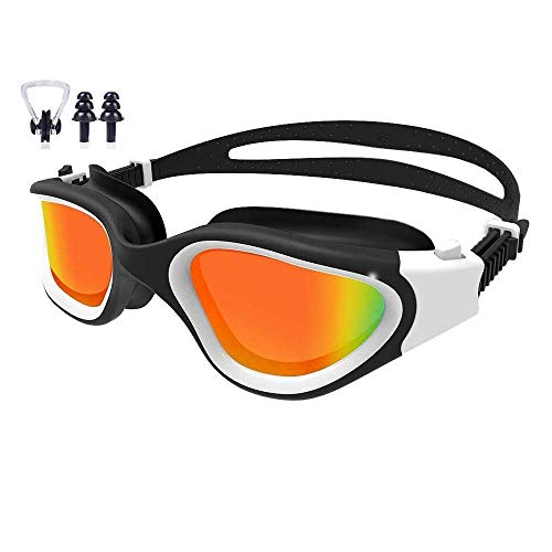 Styxon / Swim Goggles, G1 Polarized Swimming Goggles Anti-Fog for Adult Leaking Coated Lens with Case for Boys Girls Youth Kids Men Women - (Multicolor)