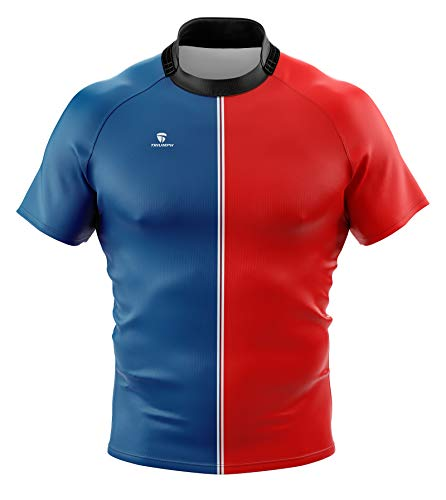 Triumph Men's Rugby Collar Jersey Size XS