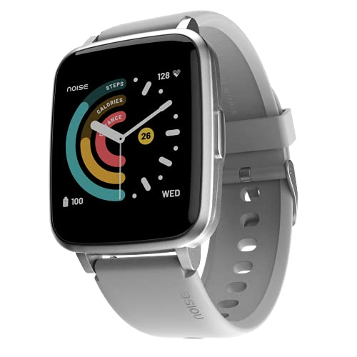 Noise ColorFit Pulse Spo2 Smart Watch 1.4' Full Touch HD Display, 10 Days Battery Life with Heart Rate, Sleep Monitoring & IP68 Waterproof (Mist Grey)