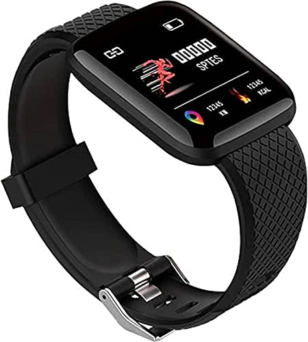Vrjtec Bluetooth Smartwatch Wireless Fitness Band for Boys, Girls, Men, Women & Kids   Sports Gym Watch for All Smart Phones I Heart Rate and BP Monitor