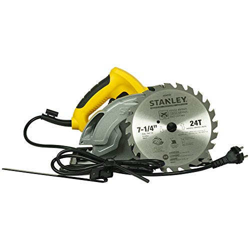 STANLEY SC16 7-1/4' 1600W Circular Saw with 24T Blade