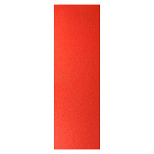 Impoted 1Pc Professional Skateboard Sandpaper Grip Tape Griptape Red