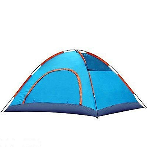 Saiyam Polyester Picnic Camping Portable Waterproof Tent for 2 Person (Multicolor)