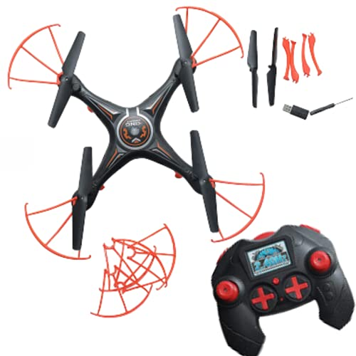 RENIAL Remote Control Drone without Camera - NO CAMERA I RC Drone I Drone for Kids I Toy Drone with Remote control I Pack of 1 I Black or White Colour (As per availability)