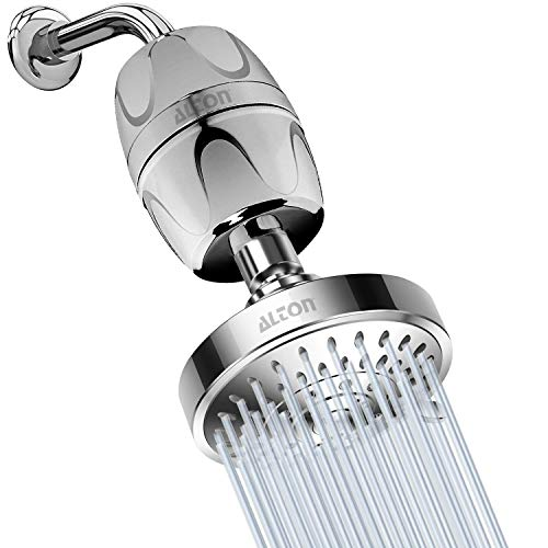 ALTON SHR20180 ABS Hard Water Filter with 5-Function Overhead Shower, Chrome Finish