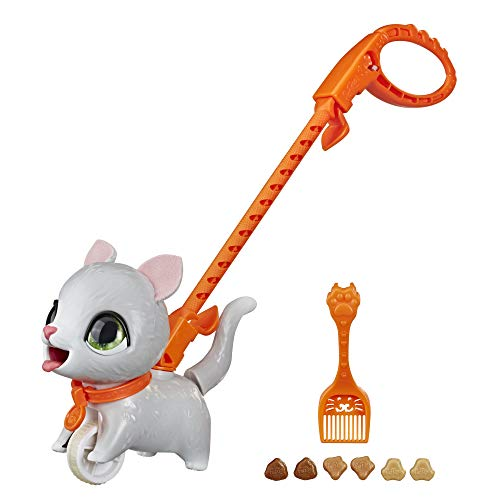 FURREAL FRIENDS Poopalots Lil' Wags Interactive Pet Toy, Connectible Leash System, , For Kids Ages 4 and Up