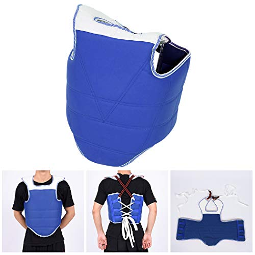 Outgeek Chest Protector Adjustable Protective Chest Guard Body Protector for Taekwondo
