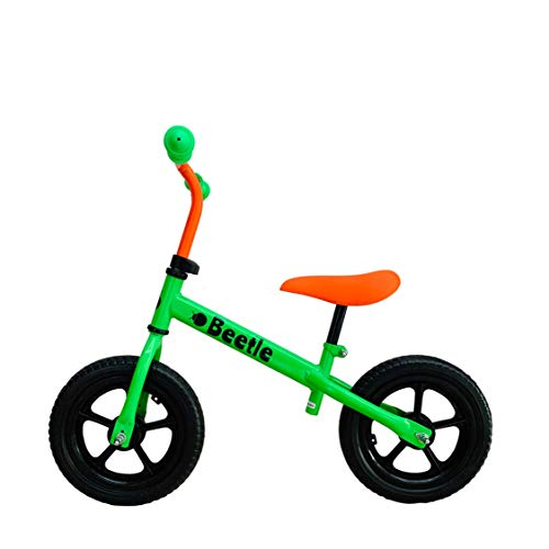 Beetle Toddler 12T Balance Bike for kids ( Neon Green, Age 1 to 4 yrs )