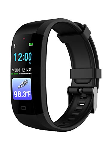 GOQii Vital 3.0 Body Temperature Tracker with 3 months personal coaching (Black)