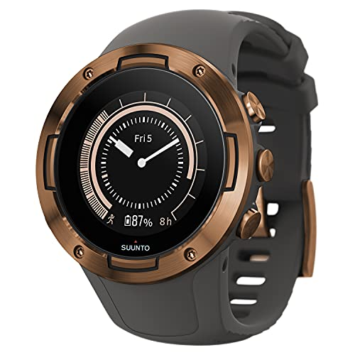 SUUNTO 5 GRAPHITE COPPER Sports Watch, great battery life, robust multisport compact GPS watch (No-Cost EMI Available)