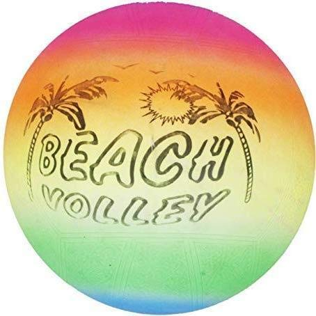 Highboy Soft Rubber Beach Ball Soft Volleyball for Kids Game (Standard, Multi Color)
