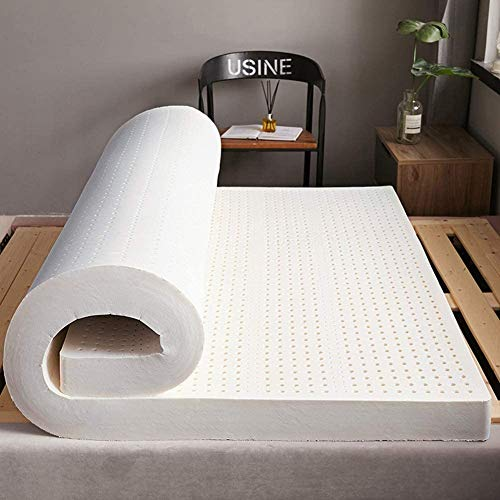8 hours Ortho Latex Mattress 6inches 100% Pure Latex from Belgium, Orthopedic Mattress for Back Pain Relief, Back and Spine Support Mattress, Medium Firm (Single)