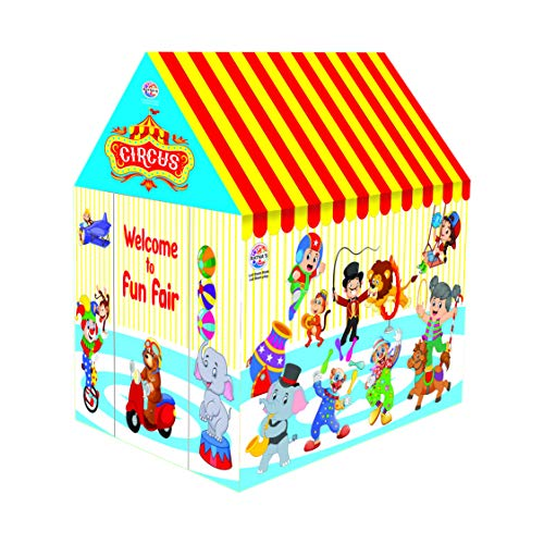 RATNA'S Premium Quality Circus Tent House for Indoor and Outdoor Fun