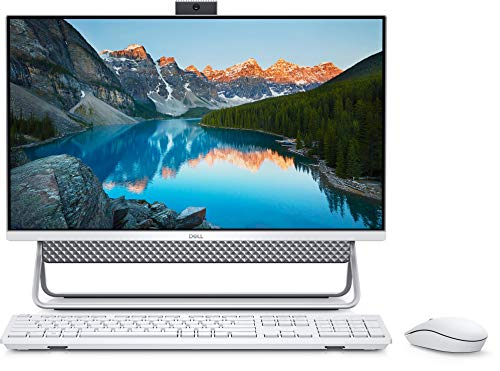 Dell Inspiron 5400 23.8' FHD All in One Desktop (11th Gen i3-1115G4/8GB RAM/1TB HDD/Windows 10/ MS Office/Integrated Graphics) All in One Desktop, Silver