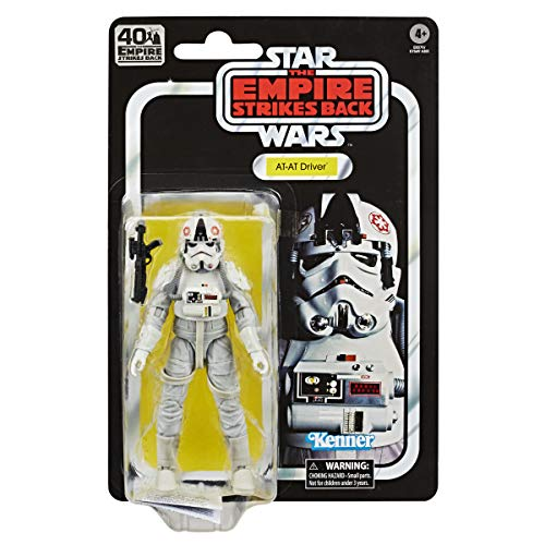 STAR WARS The Black Series At-At Driver 6-inch Scale, 40th Anniversary Collectible Figure, Ages 4 and Up
