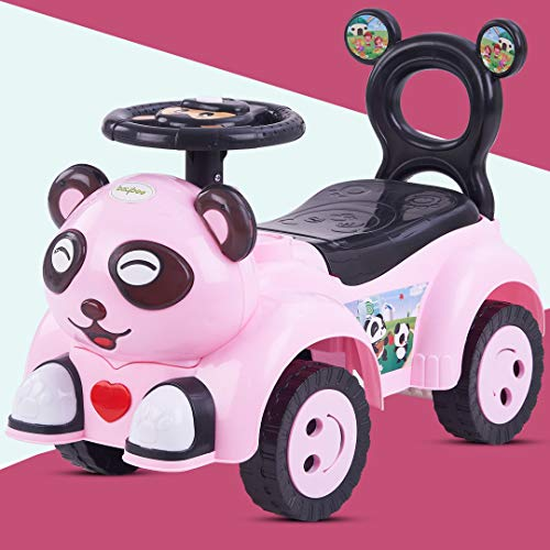 Baybee Panda Car for Kids, Baby Car Ride-on for Kids Ride-On Push Car, Toy Ride-On Car, Kids Toys, Toddler Baby Toy Suitable for Kids Boys & Girls Age 1-3 Years Old