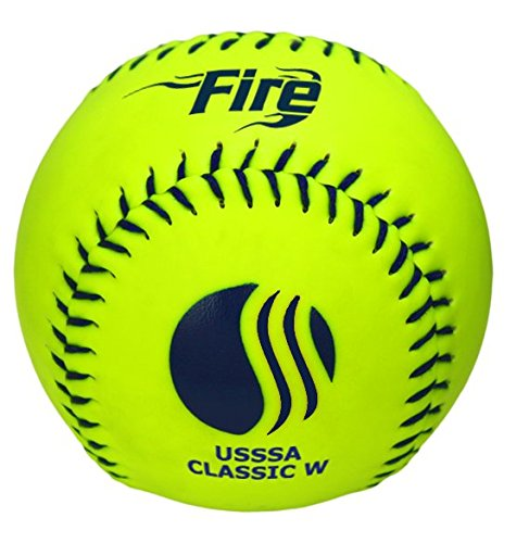Baden USSSA Classic W Synthetic Cover Slowpitch Softball 11' (One Dozen)
