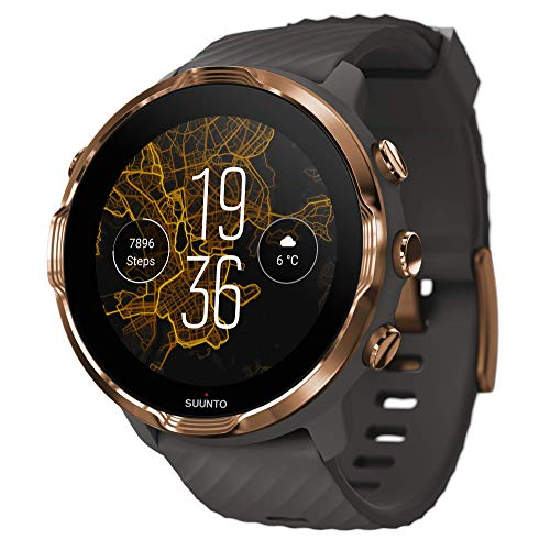 SUUNTO 7 Graphite Copper, GPS Versatile Sports Watch with Google Wear OS, 24x7 Activity and Sleep Tracking (No-Cost EMI Available)
