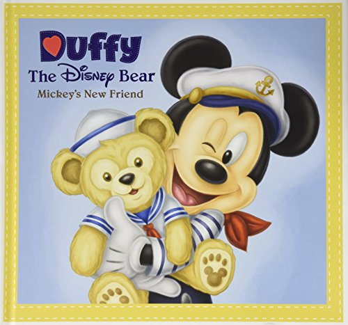 Duffy The Disney Bear Mickey's New Friend Book Beautiful Color Pictures