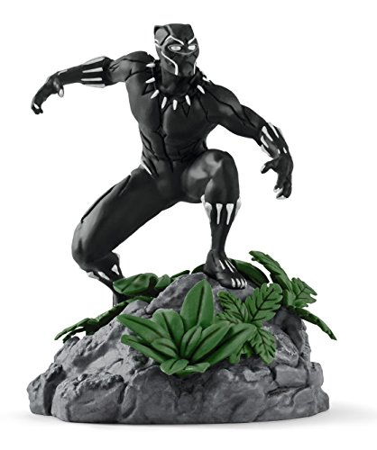 SCHLEICH Marvel Black Panther Diorama Character (Black)