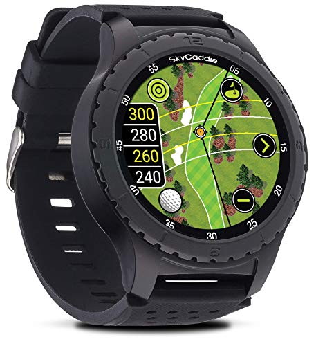 SkyCaddie LX5, GPS Golf Watch with Touchscreen Display and HD Color CourseView Maps