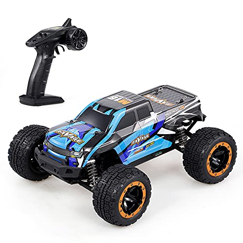 Decdeal 16889A 1/16 RC Car 45km/h Brushless Motor 4WD RC Race Truck Car Big Foot Off Road Car Toy for Adult Kids