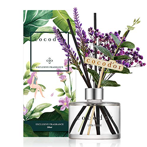 Cocod'or Lavender Diffuser Flower Little Forest Home Decor & Office Decor, Fragrance and Gifts, 200ml