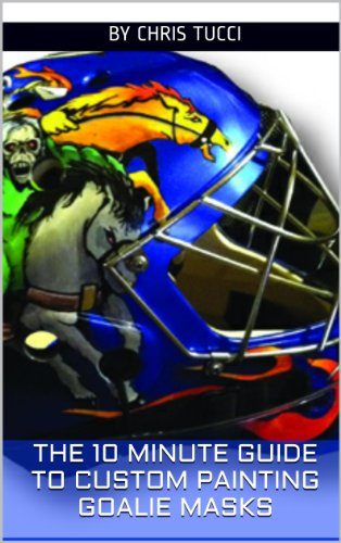 The 10 Minute Guide to Custom Painting Goalie Masks