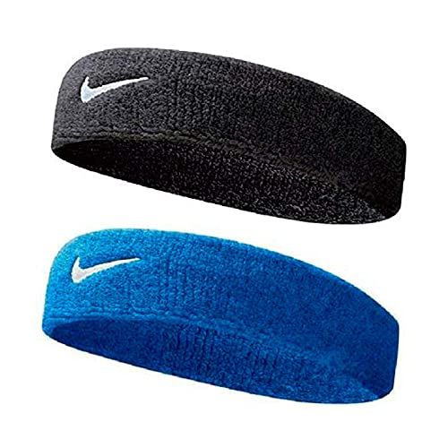 R LON Cotton Sports Headband for Men and Woman for Cricket Tennis and All Sports (Multicolour) -Pack of 2