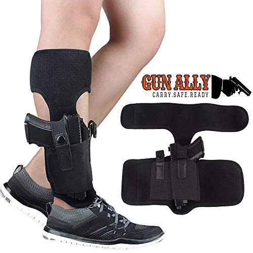 GunAlly Concealed Ankle Leg Holster Magazine Pouch Bag Leg Invisible Cloth Cover Tactics Leg Cover