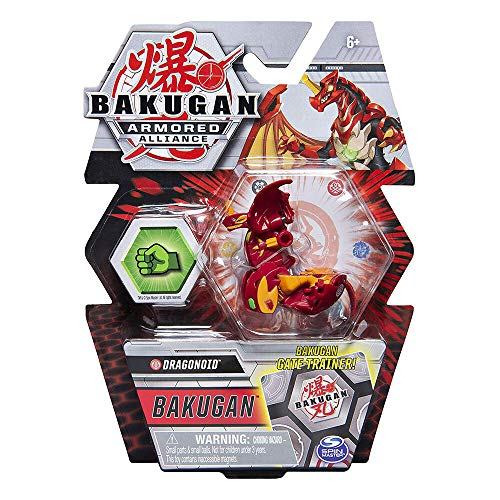 Bakugan Armored Alliance Core 2-inch Collectible Transforming Figure Dragonoid (Pyrus Faction)