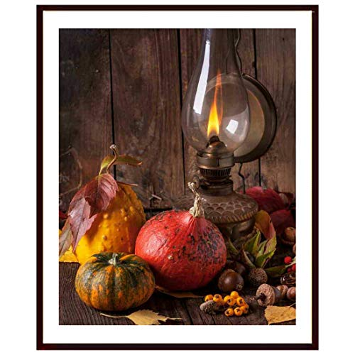 Shyam Framing ArtPumpkin Squash Wall PosterExclusive with Matte Finished Print,Poster with Fiber Wood Frame Without Glass, Frame for Living Room, Kitchen, Office, Size (12 x 14)