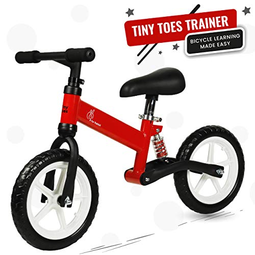R for Rabbit Tiny Toes Jazz Smart Plug n Play Freeride Bicycle for Boy & Girl of Under 13 Years with Magnessium Alloy Adjustible Structure Frame & Disc Brakes| Red