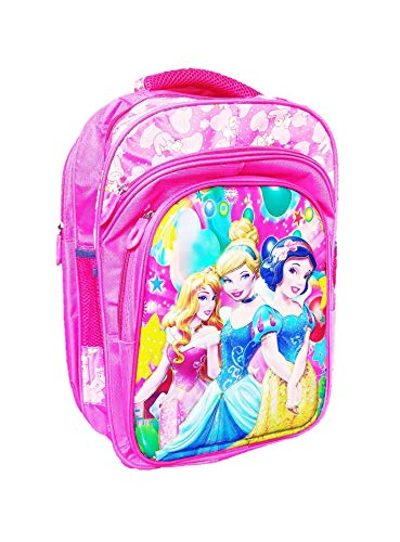 Priceless Deals Disney Cartoon Print 3D School Bag for Children up to Class 7 Age Group 5-12 Years   Size 18 inch