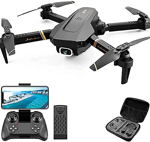 ZADIC Foldable GPS FPV Drone with 1080P HD 4k Camera Live Video for Beginners, RC Quadcopter with GPS Auto Return, Follow, Gesture Control, Auto Hover & 5G Wifi Transmission Black