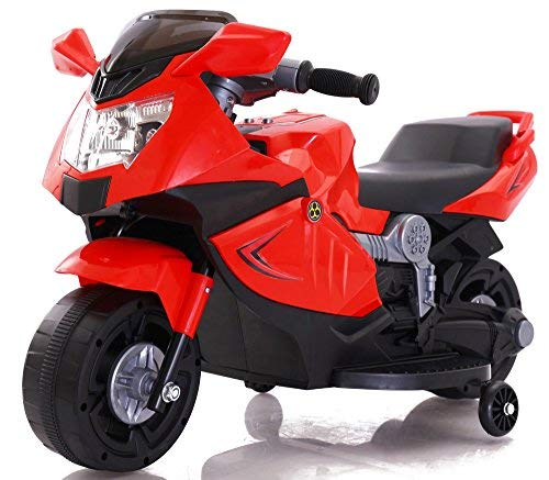 Toy House Mini Ninja Superbike Rechargeable Battery Operated Ride-On for Kids' (Red)