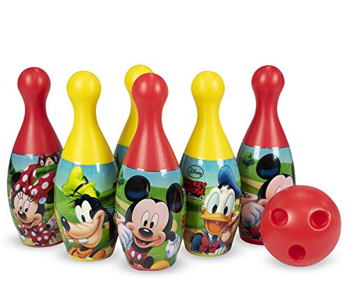 Disney Plastic Bowling Set - Mickey and Friends, Multicolor