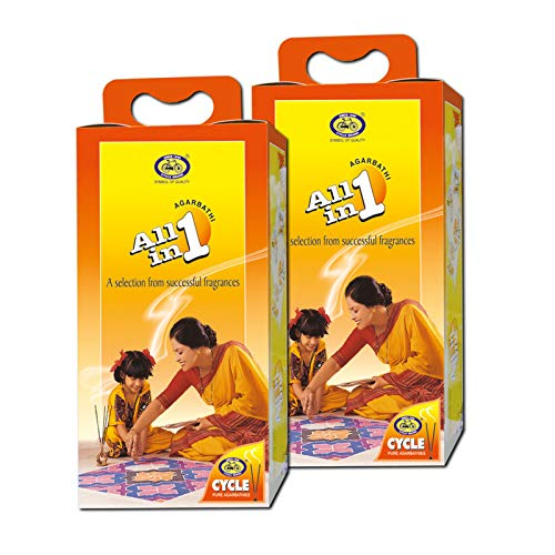 Cycle Pure All in One Agarbathies - Pack of 2