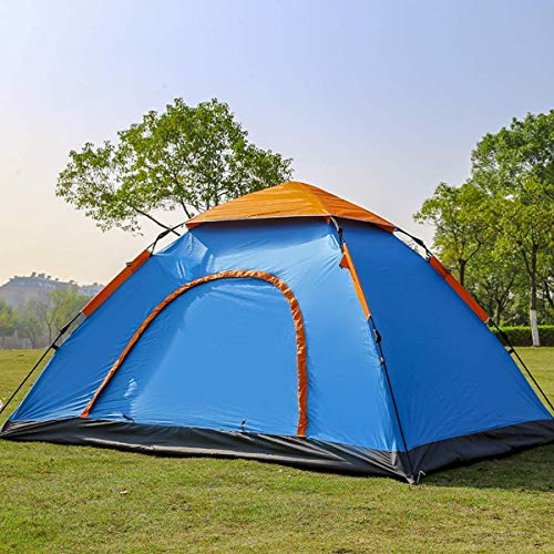 Glaceon 6 Person Instant Pop Up Lightweight Camping Tent, Outdoor Easy Set Up Automatic Family Travel Tent,Portable Backpacking Ultralight Waterproof Windproof Anti-UV Sun Shelter Tent