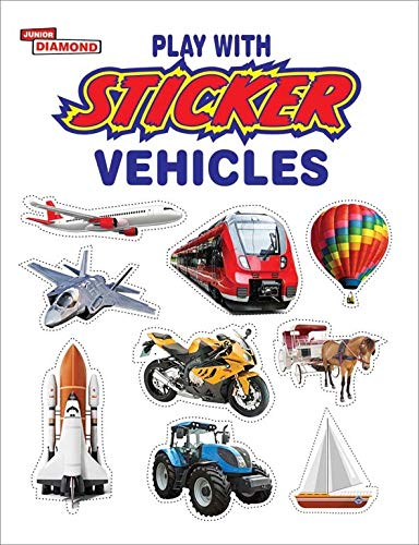 Play with Sticker Vehicles