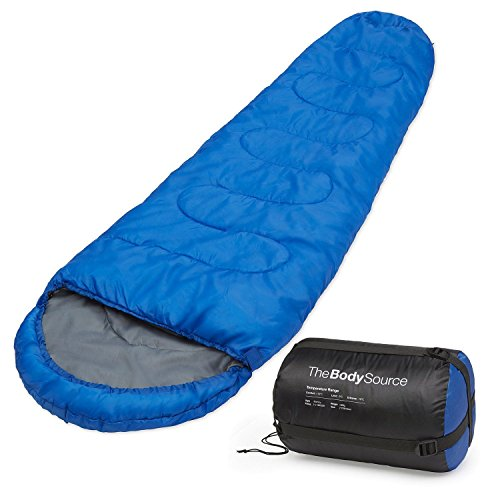 Jeval Polyester Trekking Hiking and Camping Sleeping Bag (Multicolour)